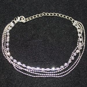 Jewelry - Glistening Bracelet with Individual Crystals